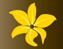 kwiatu wektor Zdjęcie Stock