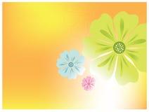 Kwiatu wektoru tło royalty ilustracja