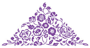 kwiatu wzór royalty ilustracja