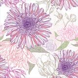 kwiatu wzór Fotografia Stock