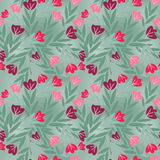 Kwiatu wzór Zdjęcia Royalty Free