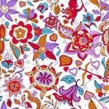 Kwiatu wzór. royalty ilustracja