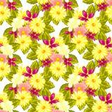 Kwiatu wzór Obrazy Royalty Free