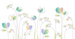 Kwiatu wzór Akwarela bukiet kwiaty ilustracji