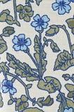 kwiatu wzoru tkanina Zdjęcie Royalty Free