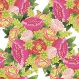 Kwiatu wzór Zdjęcia Stock
