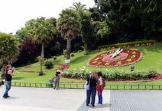 Kwiatu zegar w Vina Del Mącący Obraz Royalty Free