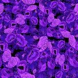 Kwiaty batik Abstrakcjonistyczna tapeta z kwiecistymi motywami t?a sk?adu powoju kwiatu tulipany bia?y Bezszwowy t?o Kola? kwiaty royalty ilustracja