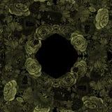 Kwiaty batik Abstrakcjonistyczna tapeta z kwiecistymi motywami t?a sk?adu powoju kwiatu tulipany bia?y Bezszwowy t?o Kola? kwiaty ilustracji