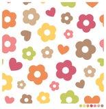 kwiaty bezszwowego Fotografia Stock