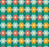 kwiaty bezszwowego tło Obrazy Royalty Free