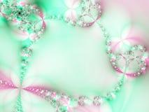 kwiaty chains ilustracja wektor