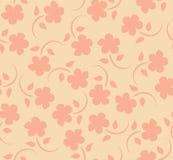 kwiaty deseniują bezszwowego wektor Zdjęcia Royalty Free