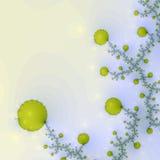kwiaty fractal Obrazy Royalty Free
