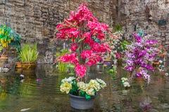 Kwiaty graden w wodzie Obraz Royalty Free