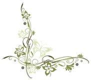 Kwiaty, granica Obraz Royalty Free
