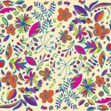 Kwiaty i jagody Obrazy Stock