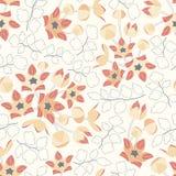 Kwiaty i liście Obrazy Stock