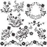 Kwiaty i motyl Obraz Royalty Free