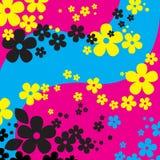 kwiaty ilustrację tło Zdjęcia Royalty Free
