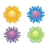 kwiaty ilustrację Zdjęcie Stock