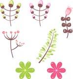 Kwiaty Ilustracyjni Zdjęcie Stock