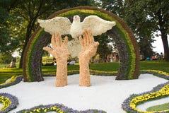 kwiaty Kiev festiwal Obraz Royalty Free