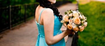 kwiaty kobiety Obrazy Stock