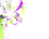 kwiaty kwiatów zaproszenie na ślub pod prysznicem Zdjęcie Royalty Free