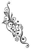 Kwiaty, kwieciści, tendril Obrazy Royalty Free