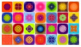 kwiaty lutus Ilustracji