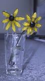 kwiaty, mrożone Zdjęcia Stock