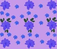 Kwiaty na menchii background Obrazy Stock