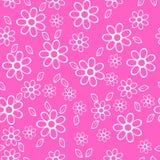 Kwiaty na menchii background Zdjęcie Stock