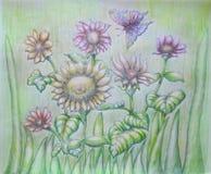 kwiaty ogrodu letni kwiat Fotografia Stock