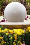 kwiaty ogrodu ornament Zdjęcia Royalty Free