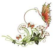 Kwiaty, okwitnięcia, tendril Zdjęcie Stock