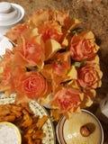Kwiaty - róże obraz royalty free