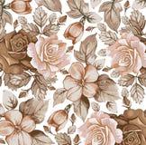 Kwiaty. Róże. Piękny tło. royalty ilustracja