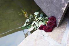 Kwiaty, róże, bukiet Zdjęcia Stock