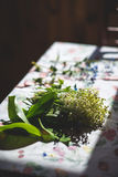 Kwiaty Retro Obrazy Stock