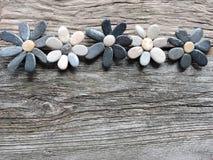 Kwiaty robić od naturalnych kamieni Obrazy Royalty Free