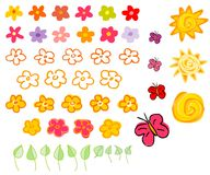 kwiaty słońca Zdjęcia Stock