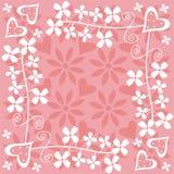 kwiaty serca Zdjęcie Stock