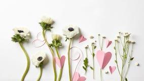 kwiaty serca Obraz Stock