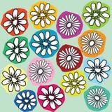 kwiaty stylizujący Fotografia Stock