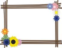 kwiaty stylizujący Fotografia Royalty Free