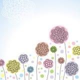 kwiaty stylizujący Zdjęcia Royalty Free