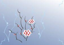 kwiaty stylizujący ilustracji