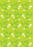 kwiaty sylwetki Obrazy Stock